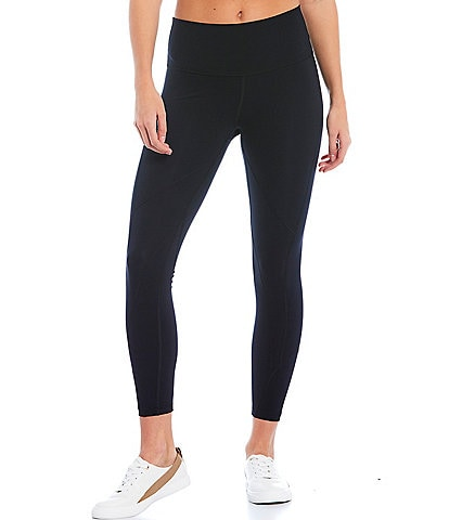 Antonio Melani Vitality Comfortable Compression High-Tech Interlock Knit Hidden Waistband Pocket Leggings