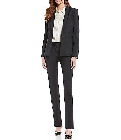 Antonio Melani Wool Nala Jacket & Alana Wool Straight Leg Pant