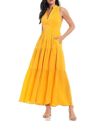 Antonio Melani x Kimberly Whitman Jordan Tiered Maxi Dress