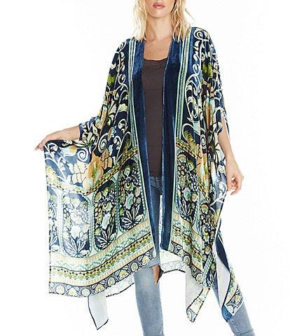Aratta Ascott Burnout Velvet Kimono