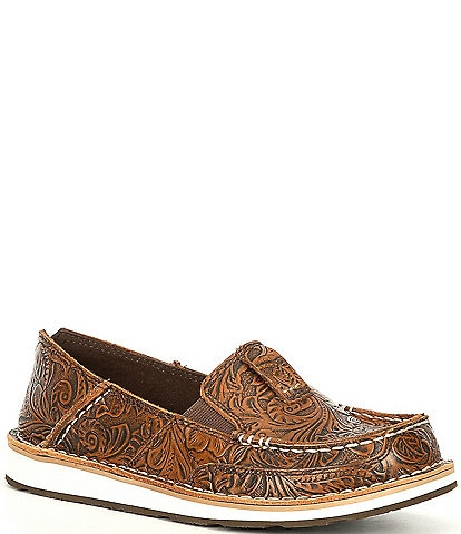 Ariat Cruiser Floral Embossed Leather Slip-Ons