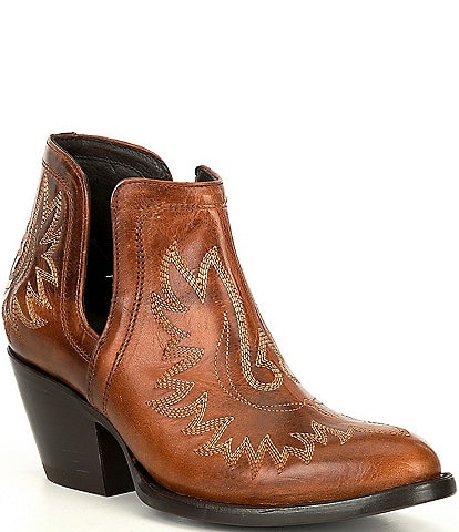 Ariat Dixon R Toe Leather Western Booties