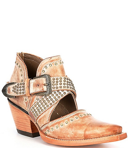 Ariat Dixon Rock N Roll Studded Leather Western Booties