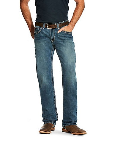 Ariat M3 Loose-Fit Boundary Straight-Leg Jeans