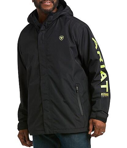 Ariat Rebar Stormshell Logo Waterproof Jacket
