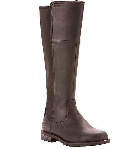 Ariat Sutton Waterproof Leather Tall Block Heel Boots