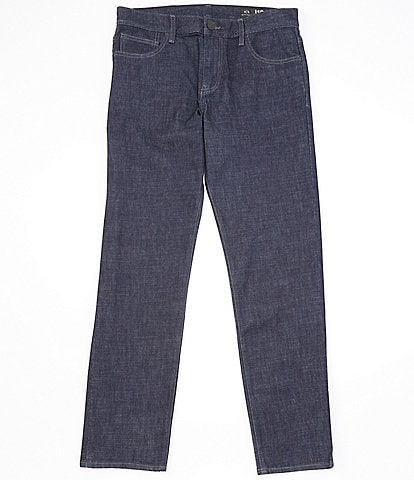Armani Exchange Rinse Relaxed-Straight Fit Stretch Jeans