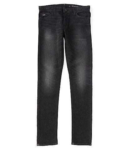 Armani Exchange Skinny-Fit Stretch Denim Jeans