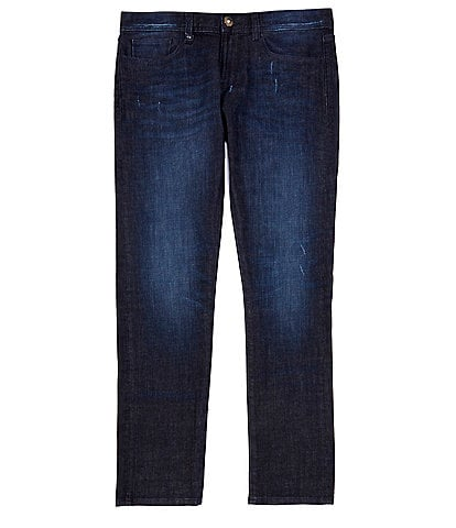 Armani Exchange Slim-Fit Indigo Stretch Denim Jeans