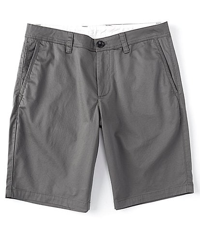 Armani Exchange Solid Twill 9#double; Inseam Shorts