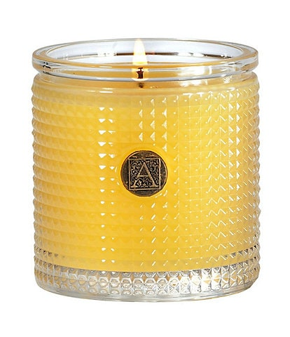 Aromatique Agave Pineapple Textured Glass Candle