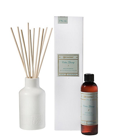 Aromatique Cotton Ginseng Reed Diffuser Set