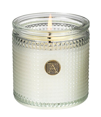Aromatique Gingerbread Brulee Textured Glass Candle