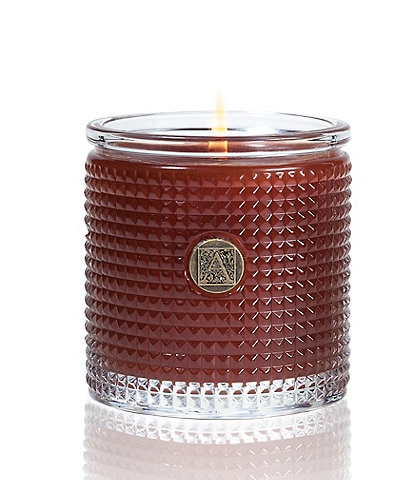 Aromatique Pumpkin Spice Textured Glass Candle