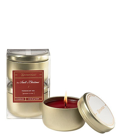 Aromatique The Smell of Christmas Thinking of You Candle Duo