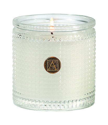 Aromatique The Smell of Spring® Textured Glass Candle