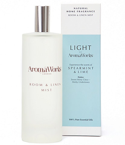 AromaWorks London Light Range Spearmint & Lime Room Mist