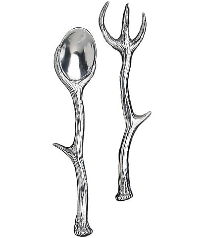 Arthur Court Antler 2-Piece Server Set