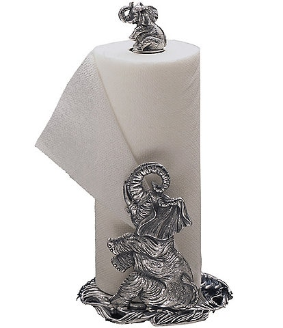 Arthur Court Elephant Paper Towel Holder