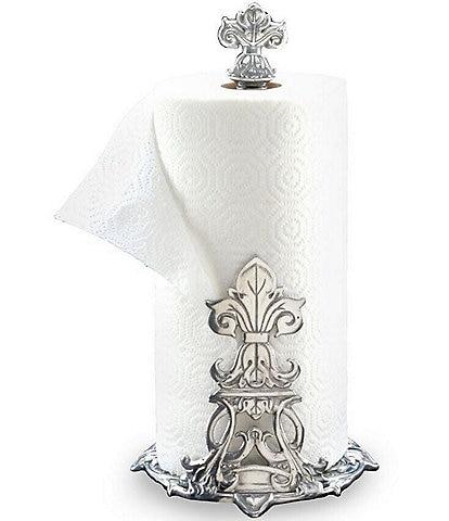 Arthur Court Fleur-de-Lis Paper Towel Holder
