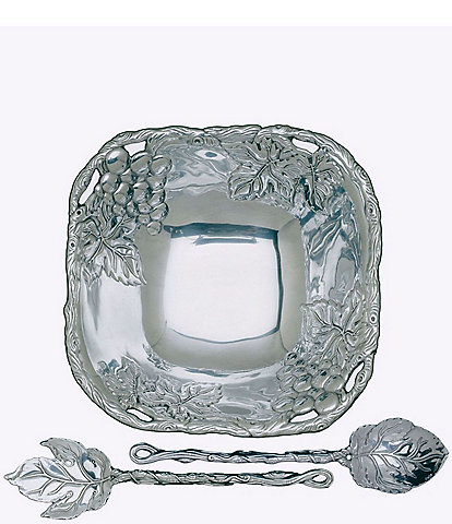 Arthur Court Grape 3-Piece Salad Set