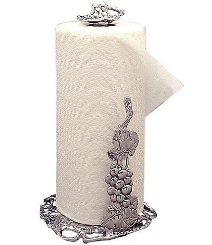 Arthur Court Grape Paper Towel Holder
