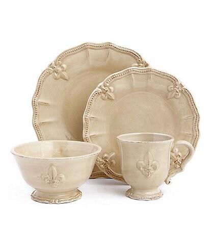 Artimino Fleur-de-Lis Earthenware Dinnerware