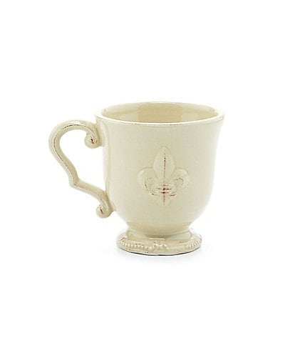 Artimino Fleur-de-Lis Earthenware Mug
