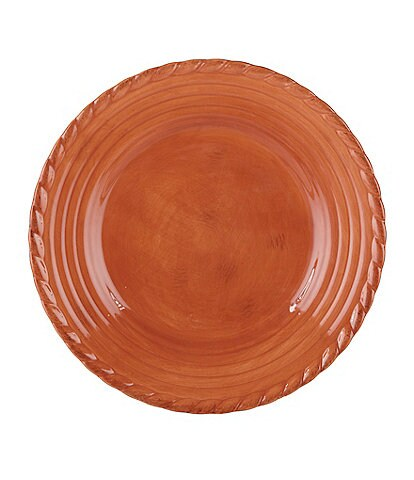 Artimino Tuscan Countryside Rope-Edged Stoneware Salad Plate