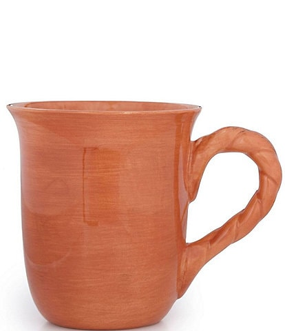 Artimino Tuscan Countryside Rope Stoneware Mug