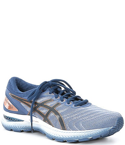 ASICS Men's GEL-Nimbus 22 Mesh Running Shoes
