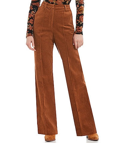 ASTR the Label Robertson High Rise Corduroy Pants