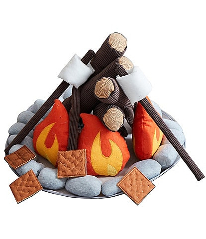 Asweets Plush Campout Camp Fire and S'mores