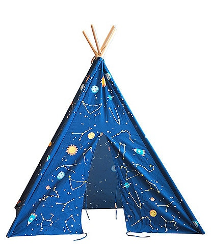 Wonder & Wise by Asweets Starry Sky Glow-In-The-Dark Teepee Play Tent