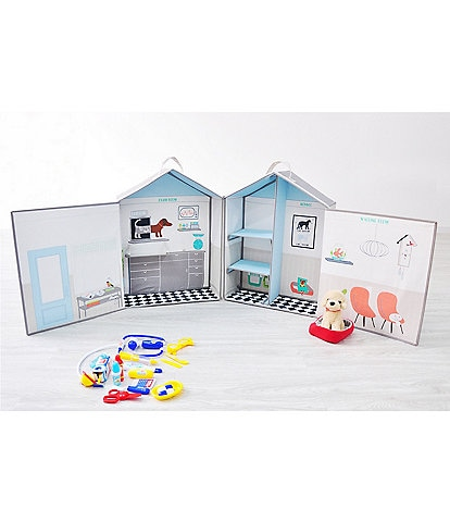 Asweets Vet Animal Hospital Play Set