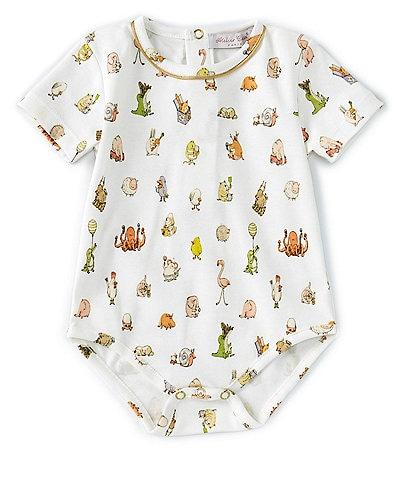 Atelier Choux Paris Baby 3-6 Months Short-Sleeve Bebe Choux Onesie