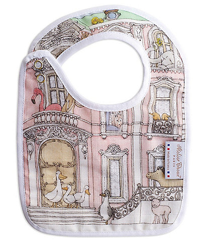 Atelier Choux Paris Baby Monceau Mansion Small Bib