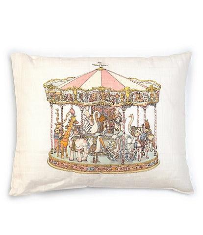 Atelier Choux Paris Carousel Organic Cotton Cushion