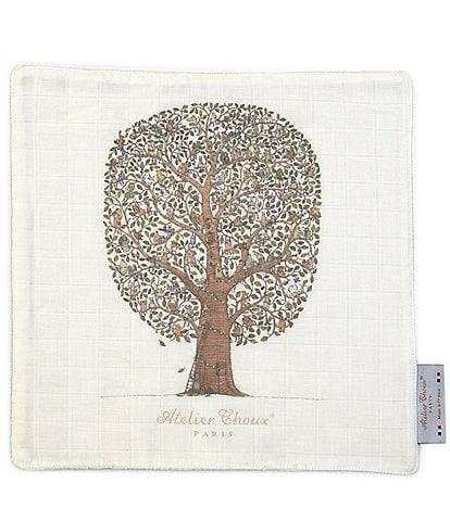 Atelier Choux Paris Friends & Family Tree Organic Cotton Mini Towel