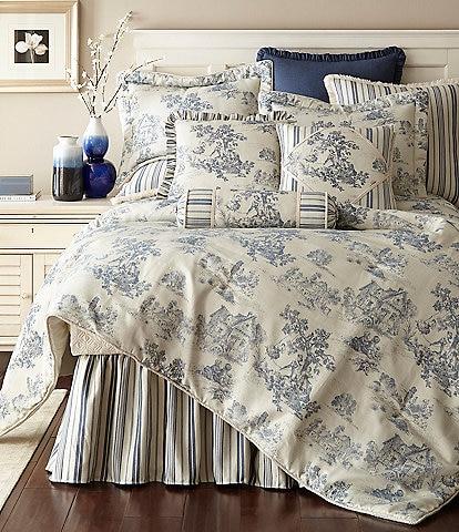 Austin Horn Classics Cosmopolitan Toile Comforter Mini Set