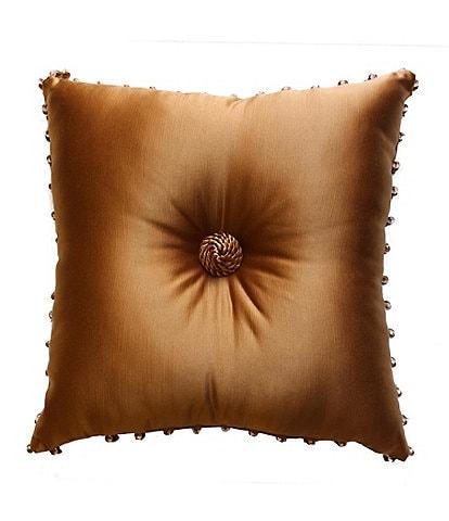 Austin Horn Classics Lismore Gold Square Pillow