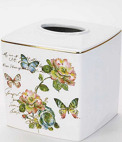 Avanti Linens Butterfly Garden Tissue Cover