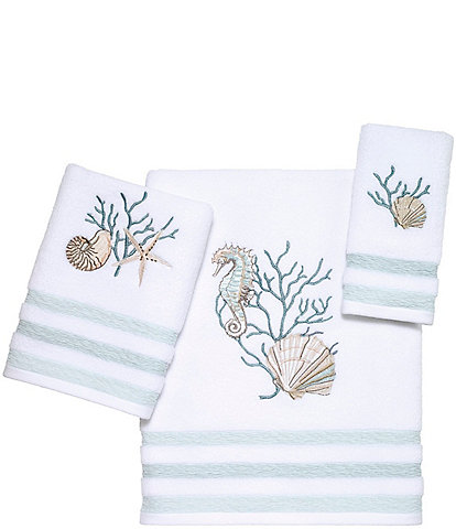 Avanti Linens Coastal Terrazzo Bath Towels