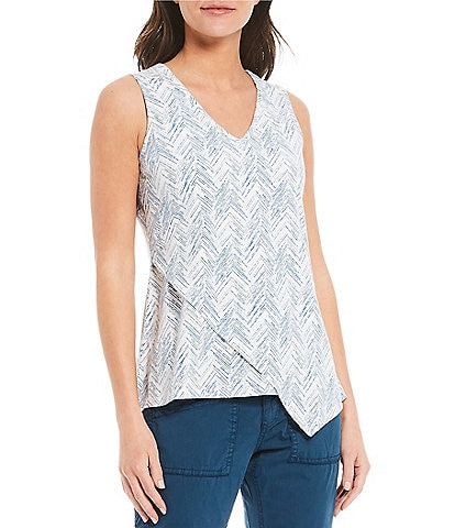 Aventura Alba Organic Cotton Blend Sleeveless V-Neck Tank