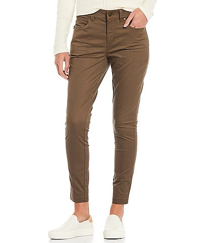 Aventura Blake Mid-Rise 5-Pocket Organic Cotton Twill Skinny Pants