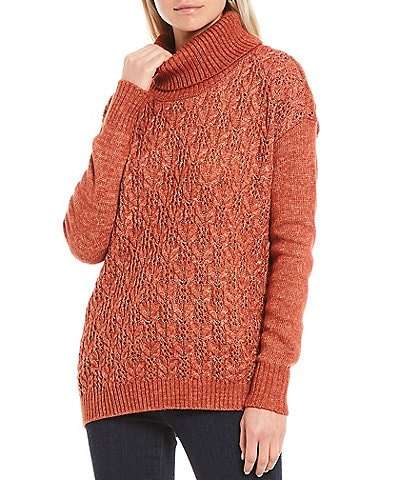 Aventura Delano Long Sleeve Easy Fit Turtleneck Sweater