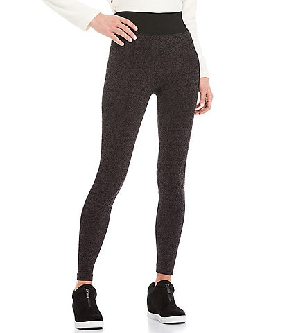 Aventura Shavonne Printed Jacquard Stretch Pull-On Leggings