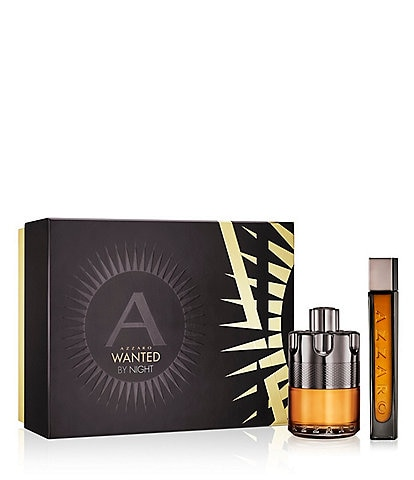 Azzaro WANTED BY NIGHT Men Gift Set