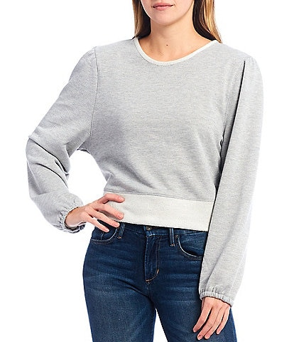 B.O.G. Collective Long Sleeve Relaxed Cropped Top