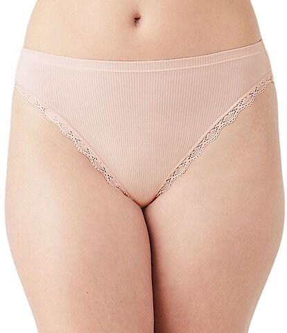 b.tempt'd by Wacoal Innocence Hi-Cut Brief Panty